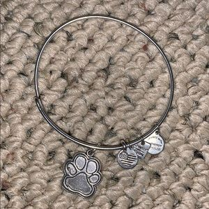 "Alex and Ani ""paw"" bracelet"